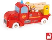 Janod Vrachtwagen - brandweer 2 brandweermannen