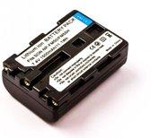 Battery similar SONY NP-FM50, NP-QM51, Li-ion, 7,4V, 1500mAh, 11,1Wh, dark grey