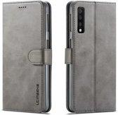 Samsung Galaxy A30 Luxe Magnetische Book Wallet Grijs