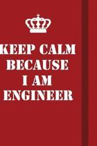 Keep Calm Because I Am Engineer: Writing careers journals and notebook. A way towards enhancement