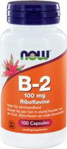 Now B-2 100 mg - 100 Capsules