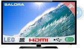 Salora 19LED2605D - Led-tv-/dvd-combo - 19 inch - HD-ready - Zwart