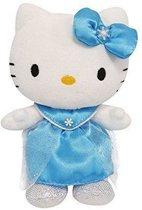 Jemini Hello Kitty Knuffel Princess Meisjes Blauw 17 Cm