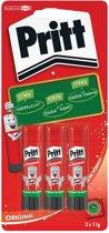 Pritt Stick Original - 3x11 Gram - Pritt Stift