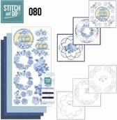 Stich and Do 80 - Vintage Bloemen