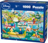 Disney Puzzel 1000 Stukjes - Fun on the Water - Legpuzzel
