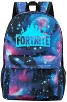 Fortnite lichtgevende Galaxy rugtas - schooltas - rugzak