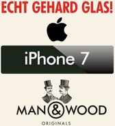 Man & Wood iPhone 7 Screenprotector / Schermbescherming ECHT GEHARD GLAS (Tempered Glass) - iPhone 7