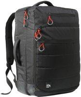 CabinMax Santiago Rugzak - Waterdichte Handbagage - Rugtas 44l - Schooltas - Laptoptas - 55x40x20cm - Zwart  (SANTIAGO)