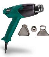 VONROC Heteluchtpistool | Verfafbrander 2000W – 2 temperatuurstanden – Incl. accessoires en opbergtas