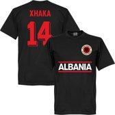 Albanië Xhaka 14 Team T-Shirt  - L