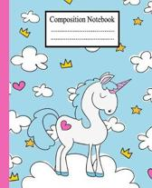composition notebook: Composition Notebook Ruled Paper Notebook Journal - Blank Lined Workbook for Teens Kids Students Girls for Home School