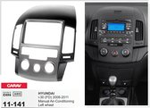 2-DIN HYUNDAI i-30 (FD) 2008-2011 (Manual Air-Conditioning / Left wheel) inbouwpaneel Audiovolt 11-141