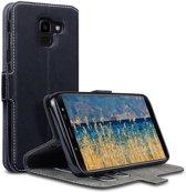 Samsung Galaxy J6 2018 hoesje - CaseBoutique - Zwart - Kunstleer
