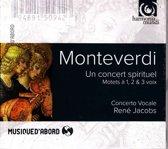 Monteverdi: Un concert spirituel / Jacobs, Concerto Vocale