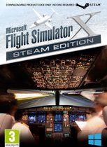 Microsoft Flight Simulator X - Steam Edition (Code in a Box) - Windows