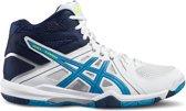Asics Gel-Task MT Indoor Sportschoenen - Maat 50.5 - Mannen - wit/navy/blauw