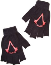 Assassin's Creed, Black Flag - Acrylic Logo Fingerless Gloves