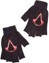 Assassin's Creed, Black Flag - Acrylic Logo Fingerless Gloves