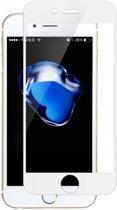 Full Front Tempered Glass Protector Apple iPhone 7 / 8 | 3D volledige Glazen Tempered Screenprotector Gorilla Glass voor iPhone 7 en 8 | Kleur Wit