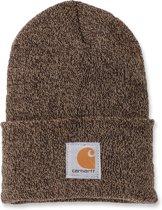 Carhartt Muts ACRYLIC WATCH HAT Sandstone bruin - Beanie