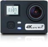 Lipa AT-N460 action camera 4K en 24 MP - Wifi phone remote - Met SD 16 GB