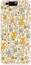 Honor 9 Hoesje Doodle Flower Pattern
