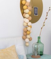 Cotton Ball Lights Lichtslinger Gold Mix Sparkling – 35 Cotton Balls – Goud