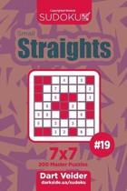 Sudoku Small Straights - 200 Master Puzzles 7x7 (Volume 19)