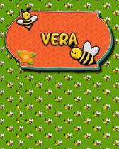 Handwriting Practice 120 Page Honey Bee Book Vera