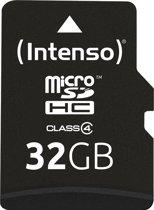 Intenso Micro SDHC 32GB 32GB Micro SDHC Klasse 4 flashgeheugen