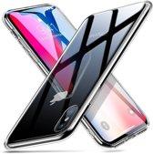 ESR iPhone 7 Plus hoes met transparante glazen achterkant