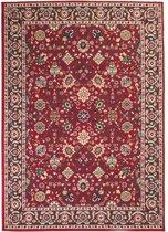 vidaXL Tapijt Oriental Perzisch ontwerp 140x200 cm rood/beige