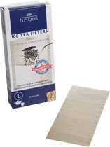 Finum Theefilters L - Naturel - Set-100