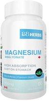 88Herbs Magnesium Bisglycinaat 90 Vegetarische Capsules van 500mg - Magnesium Supplement