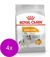 Royal Canin Ccn Coat Care Mini - Hondenvoer - 4 x 1 kg