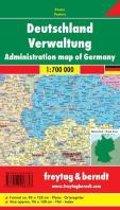 Deutschland Verwaltung 1 : 700 000. Planokarte