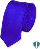 Blauwe stropdas skinny