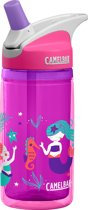 CamelBak Eddy Kids Insulated - Drinkfles - 400 ML - Roze (Pink Mermaids)