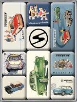 Nostalgic Art Magneet Set Trabant