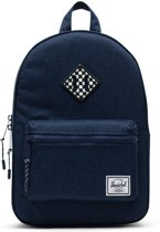 Herschel Supply Co. Heritage Kids Rugzak - Medieval Blue Crosshatch / Checkerboard