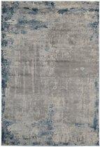 Modern tapijt in grijs en blauw - 160 x 230 cm