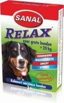 Sanal Relax Tablet - Antistressmiddel Grote Honden