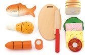 Viga Toys - Speelgoedsnijset - Lunch Box