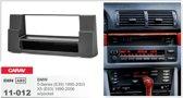 1-DIN BMW 5-Series (E39) 1995-2003; X5 (E53) 1999-2006 w/pocket inbouwpaneel Audiovolt 11-012