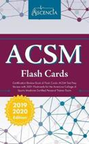 ACSM Certification Review Book of Flash Cards