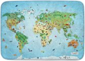 Achoka Speelkleed Around The World 130 X 180 Cm 12,6 Mm