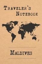 Traveler's Notebook Maldives