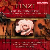 Finzi: Violin Concerto, In Years Defaced etc / Little, Ainsley, Hickox et al