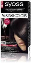 SYOSS Mixing Colors 1-18 Dark Chocolat Fusion - Haarverf